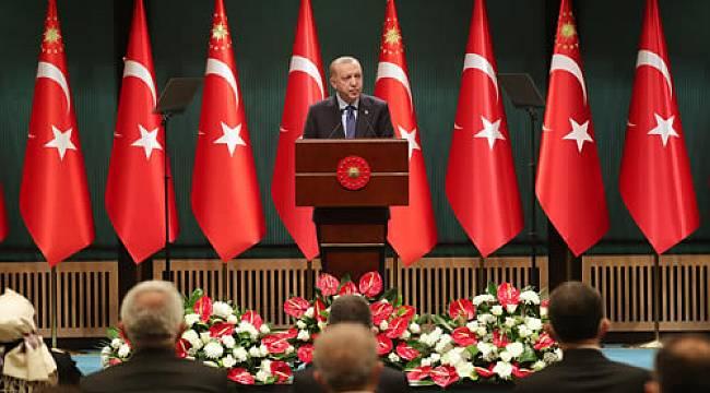 ERDOĞAN,'ADIMLARIMIZI KADEMELİ ŞEKİLDE ATMAMIZ GEREKİYOR'