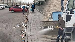 Tuşba Belediyesin'den kapsamlı temizlik