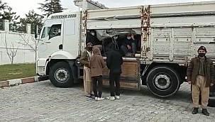 Van'da 112 göçmen Muradiye'de yakalandı - Detaylar Van Haber'de
