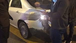 Van'da görülmemiş trafik kazası - Korkudan olay yerinden kaçtı