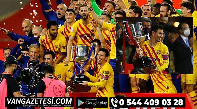 72'de Lionel Messi'nin golleriyle kupaya uzandı