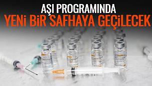Aşı Programında Yeni Bir Safhaya Geçilecek