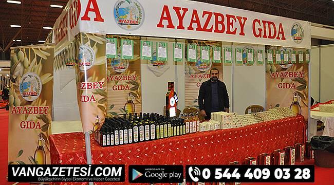 Ayazbey Zeytinyağı Van fuarında siz değerli misafirlerini bekliyor…