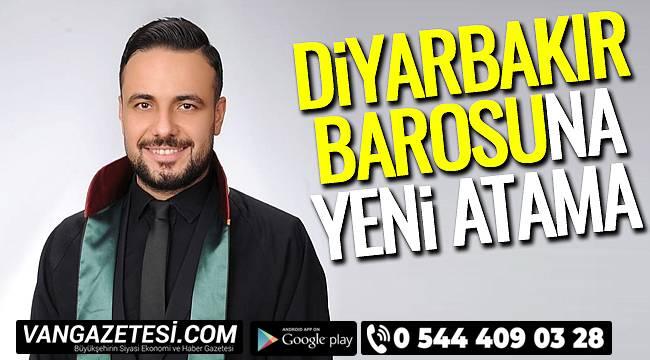 Diyarbakır Barosu Başkanlığına Yeni Atama