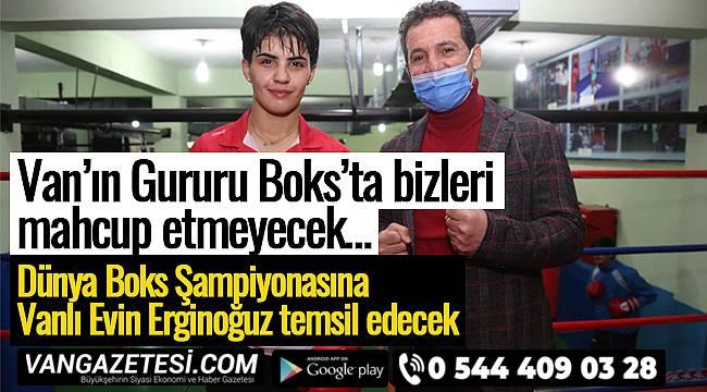 Dünya Boks Şampiyonasına Vanlı Evin Erginoğuz temsil edecek