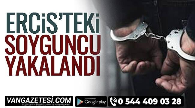 Erciş'teki Soyguncu Yakalandı