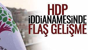HDP İddianamesinde Flaş Gelişme