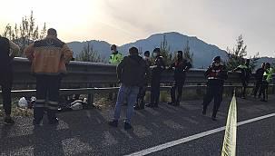 Marmaris Girişinde gerçekleşen kazada iki genç yaşamını yitirdi