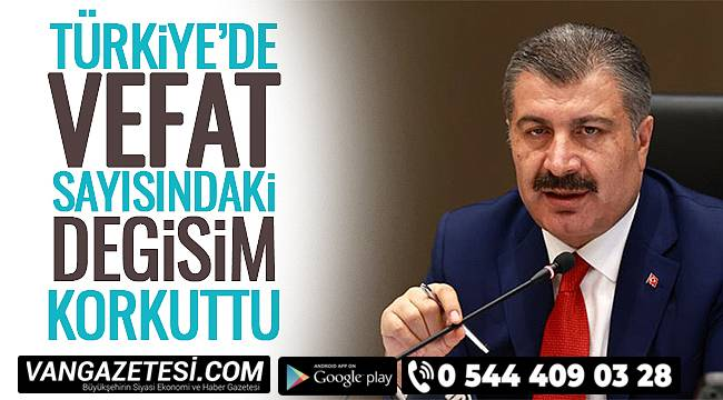 Türkiye'de Vefat Sayısındaki Değişim Korkuttu
