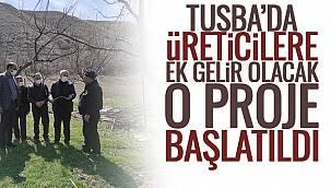 Tuşba'da Üreticilere Ek Gelir Olacak O Proje Başlatıldı