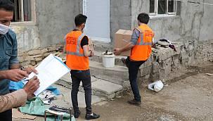 Van'da 1000 adet gıda ve 1000 adet temizlik kolisi