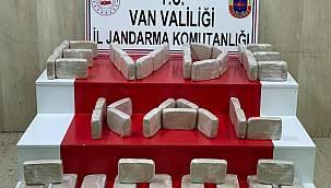 Van'da 51 kg Eroin maddesi - Şüpheliler gözaltında