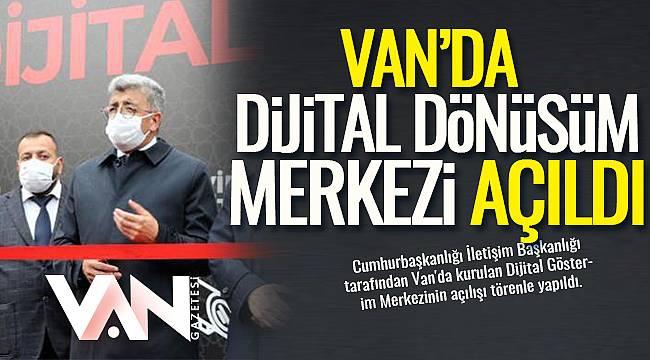 Van'da Dijital Gösterim Merkezi Açıldı