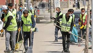 Van'ın sağlığı için, 130 temizlik personeline izni verilmedi