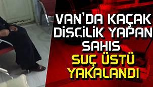 Van İpekyolu ilçesinde kaçak dişçi hakkında yasal işlem başlatıldı