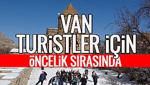Van Turistler İçin Öncelik Sırasında