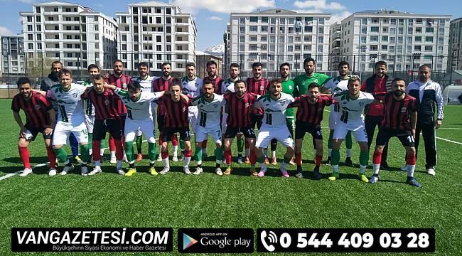 Vangölü Spor ikinci hazırlık maçını oynadı