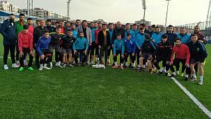 Vangölü Spor Kulübü'ne moral desteği verildi