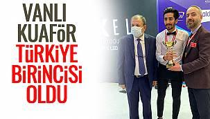 Vanlı Kuaför Türkiye Birincisi Oldu