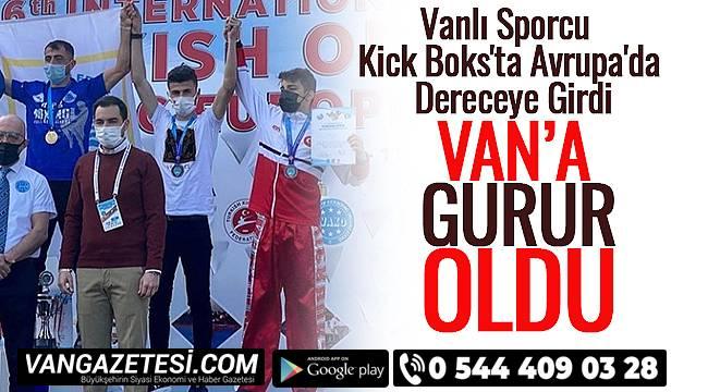 Vanlı Sporcu Kick Boks'ta Avrupa'da Dereceye Girdi - Van'a Gurur Oldu