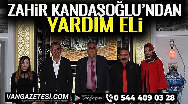 Zahir Kandaşoğlu'ndan Yardım Eli