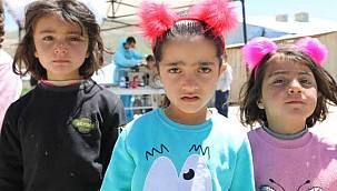 Belediyeden 2 köyde 500 çocuğa anlamlı destek