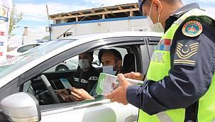 Jandarma'dan Van'da 'Trafikte 1 can kaybı bile çok fazla' sloganı etkinliği