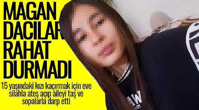Muhtar, 15 yaşındaki kızı kaçırmak için evini bastı yetmedi