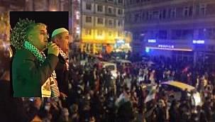 Van halkı Mescidi Aksa için sokaklara indi