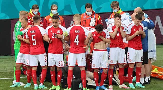 Dünya futbol tarihine geçecek bir fotoğraf