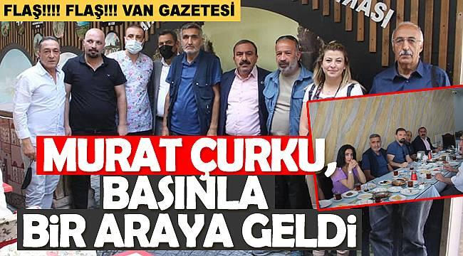 Gazeteci Murat Çurku, gazeteci meslektaşları ağırladı