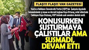 Kaya Ortasaç, Acılı annelere destek verirken HDP'den müzikli tepki geldi - Videolu