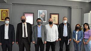 Kayhan Türkmenoğlu ,Tubittum Ailesini ve Van Gazetesini Ziyaret Etti