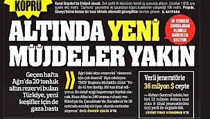 Türkiye'nin gündemini belirleyecek gazete manşetleri