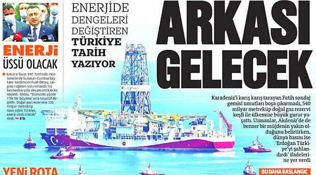 Türkiye Tarih Yazıyor, Arkası gelecek