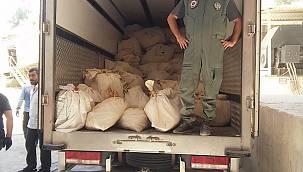 Van'da 4,5 ton uyuşturucu bin yüz derecelik fırınlarda imha edildi
