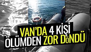 Van'da 4 genç, yüzmeye giderken boğulma faciası yaşadı, Van haber'de