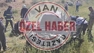 Van'da araç takla attı ve 2 ölü 1 yaralı - Detaylar Vanhaber'de