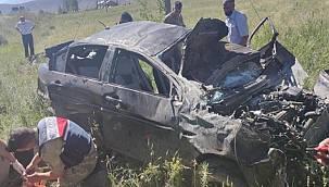 Van'da korkunç kaza 2 ölü