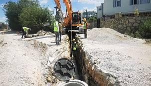 Van Edremit Belediyesinden altyapı kanalizasyon çalışmaları açıklaması