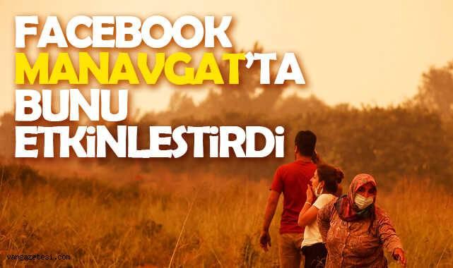 Facebook Manavgat'ta bunu etkinleştirdi