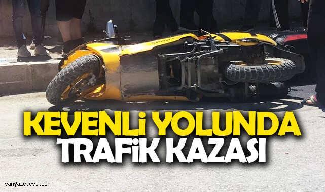 Kevenli yolunda trafik kazası