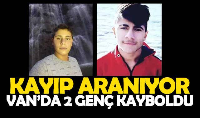 Van'da 2 genç Kurban Bayramında kayboldu
