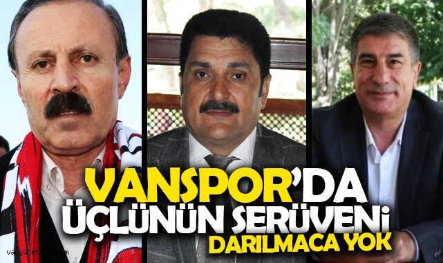Vanspor'da üçlünün serüveni