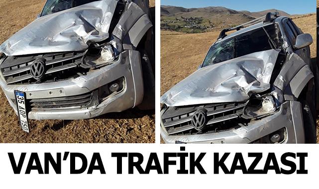 Van'da trafik kazası 3 yaralı