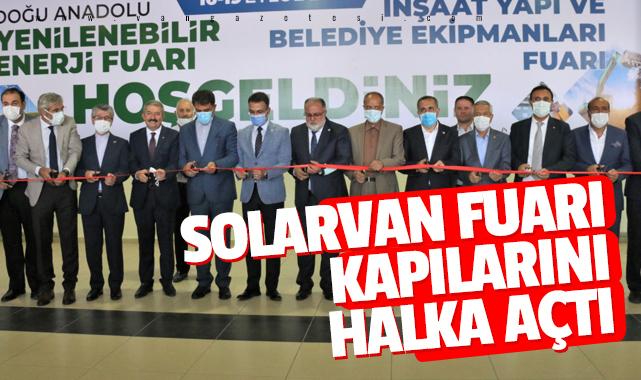 Van Solarvan Fuarı Kapılarını Halka ve İran'a açtı