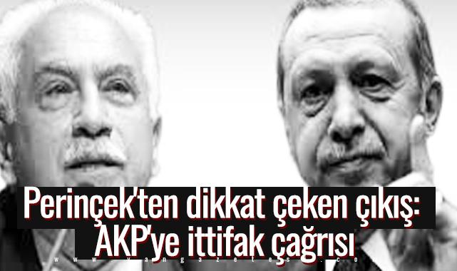 Perinçek'ten dikkat çeken çıkış: AKP'ye ittifak çağrısı