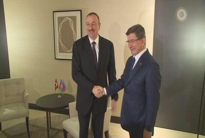 Azeri Cumhurbaşkanı Aliyev İle Görüştü