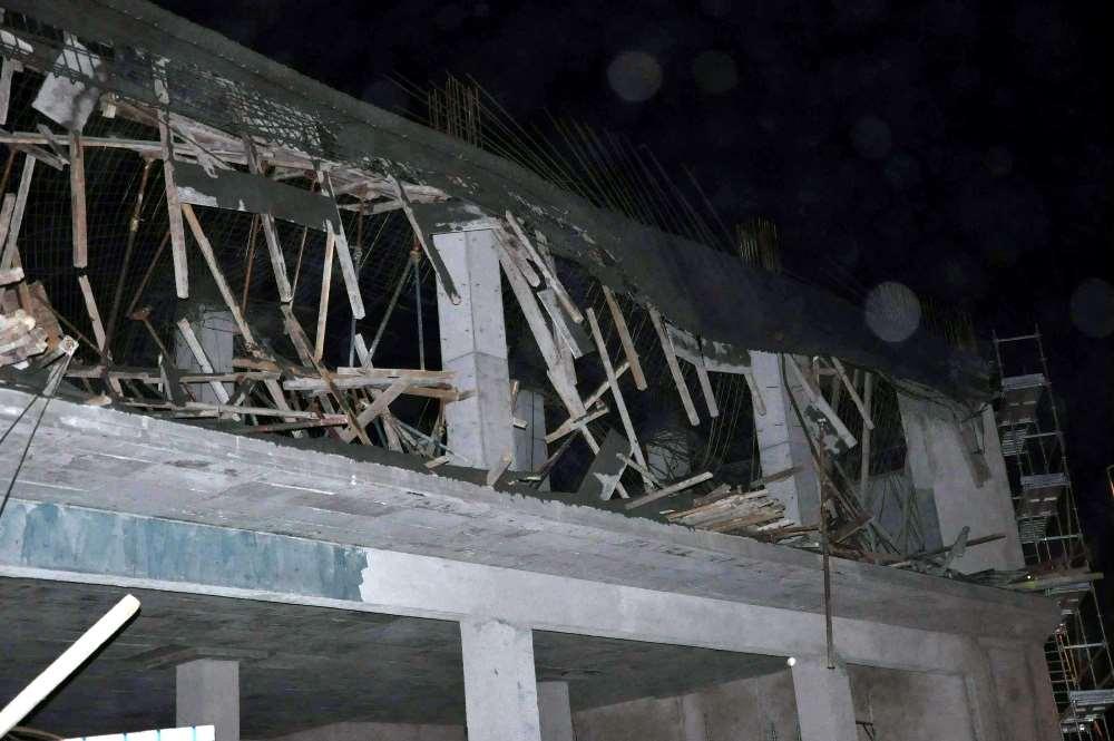 Belediye Binası İnşaatında Göçük: 4 Yaralı