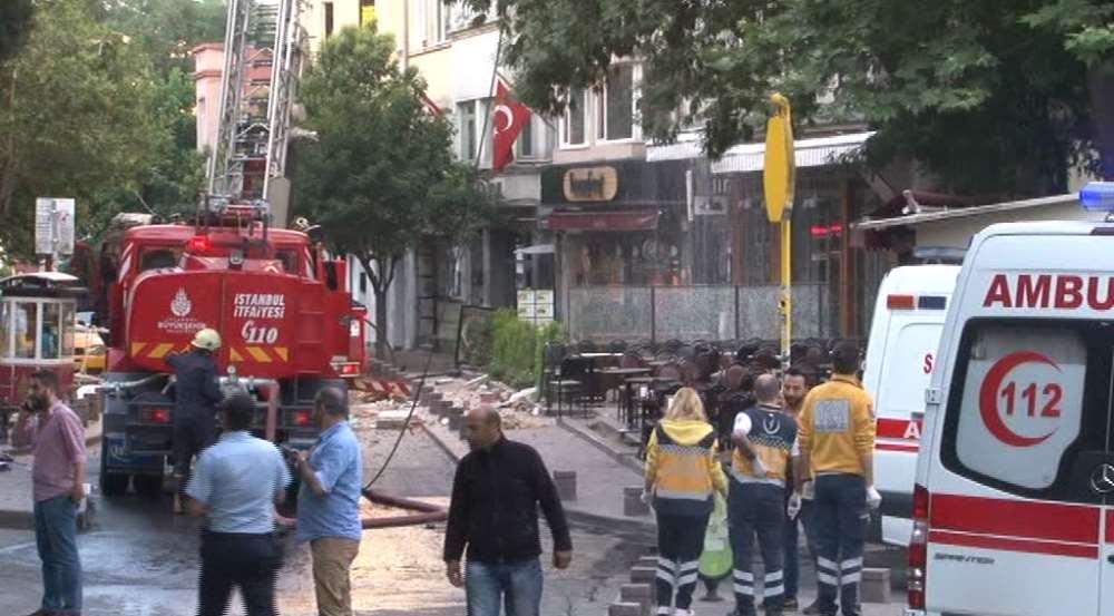 Beyoğlu'ndaki Patlamada Bir Kişi Hayatını Kaybetti